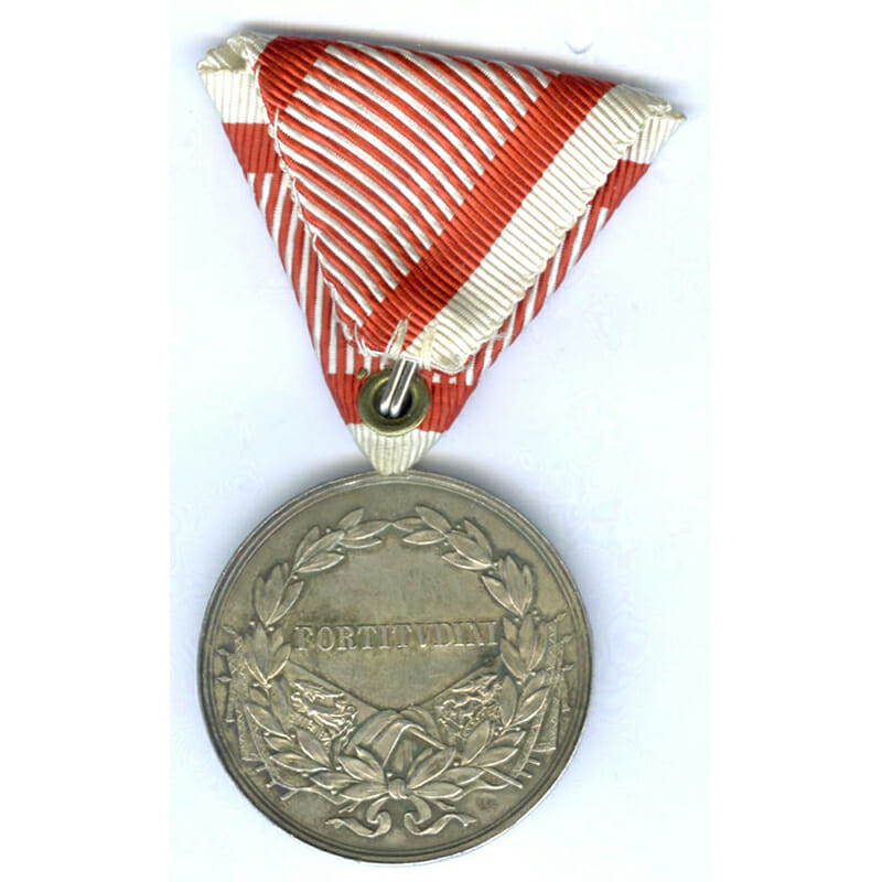 Medal for Bravery Carolus  large silver  by Kautsch 2
