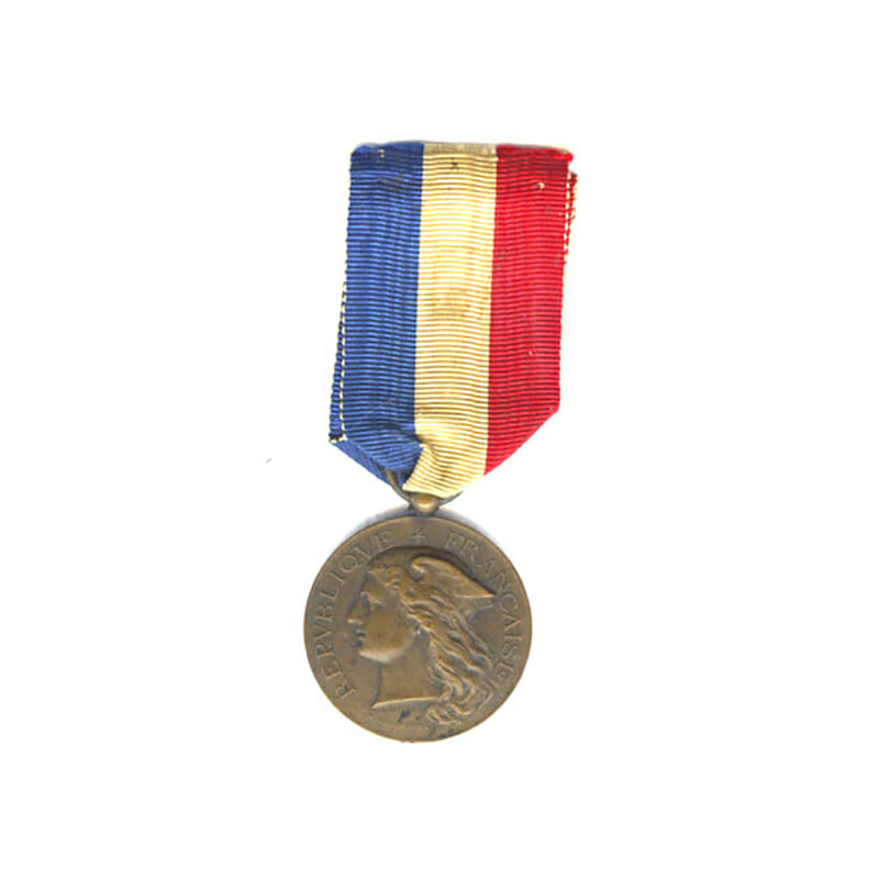 Medal of Honour for Epidemics Ministry of the Interior bronze embossed naming... 1