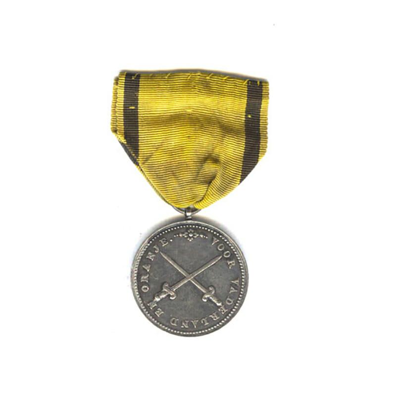 Hague Volunteers  1813 silver  by H. D. Heus F. 29mm 1
