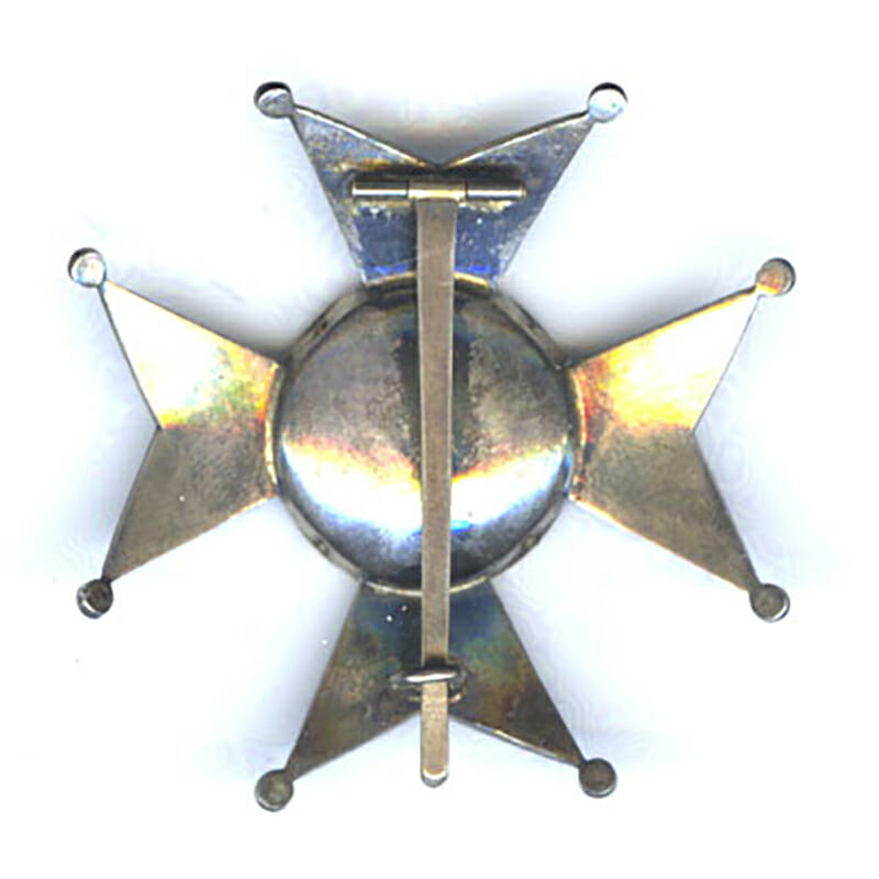 Order of St. Ferdinand breast star Maltese style cross 2