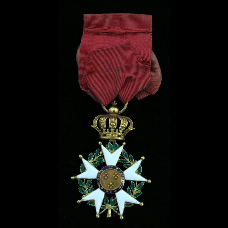 Legion D'Honneur  Officer in gold 2