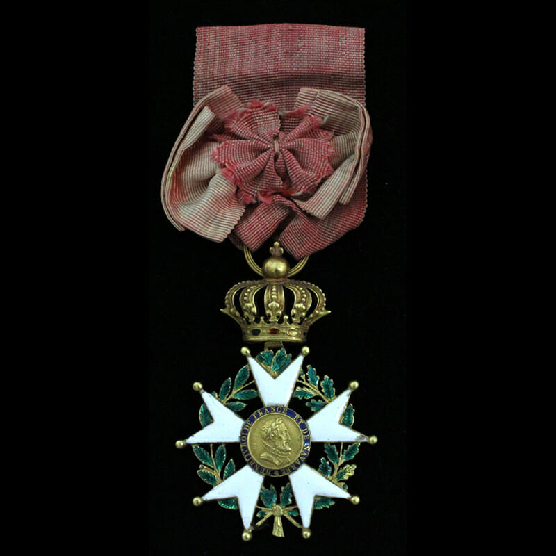 Legion D'Honneur  Officer in gold 1