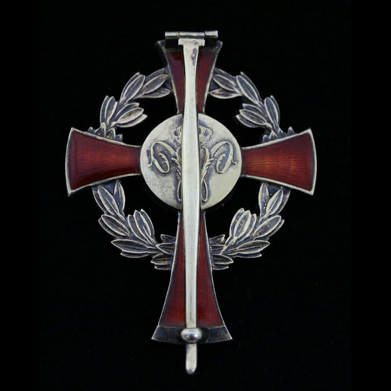 Family House Order of Orange Officer pin back breast badge 2