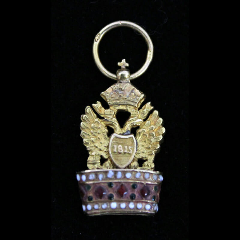 Order of the Iron Crown Breast Badge first type 1815 2