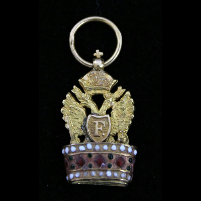 Order of the Iron Crown Breast Badge first type 1815 1