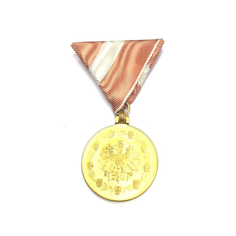 Republic Order of Merit  Merit medal golden in fitted embossed case of... 1