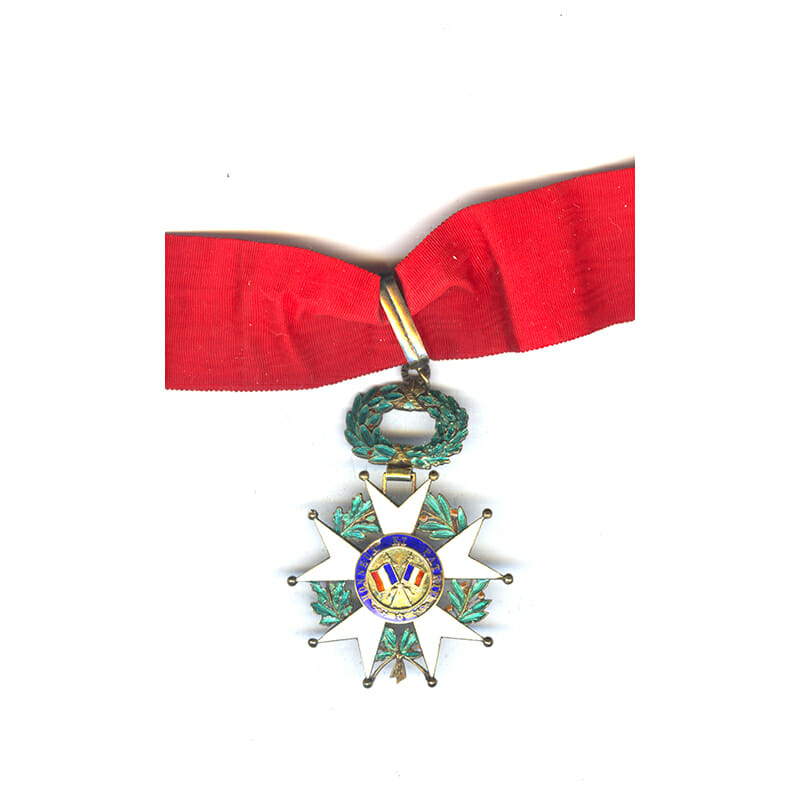 Legion D'Honneur 1870-1951 Commanders neck badge  some chipping to the legends... 2