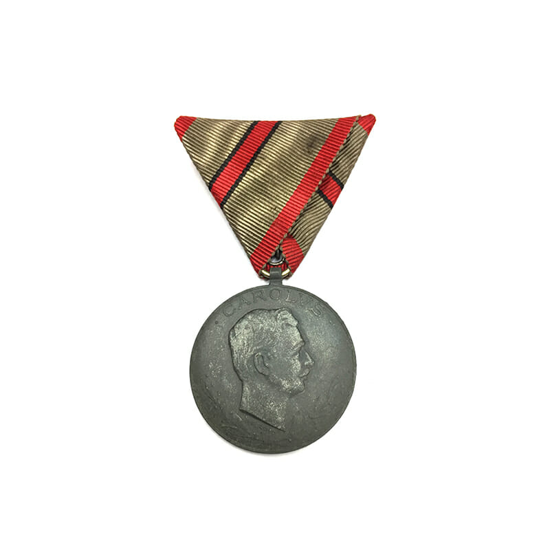 Wound Medal 1918-18 for 1 wound 1