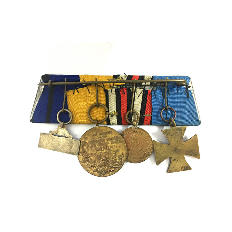 Group of 4  : Franco Prussian War Veterans Cross 1870/71, 2