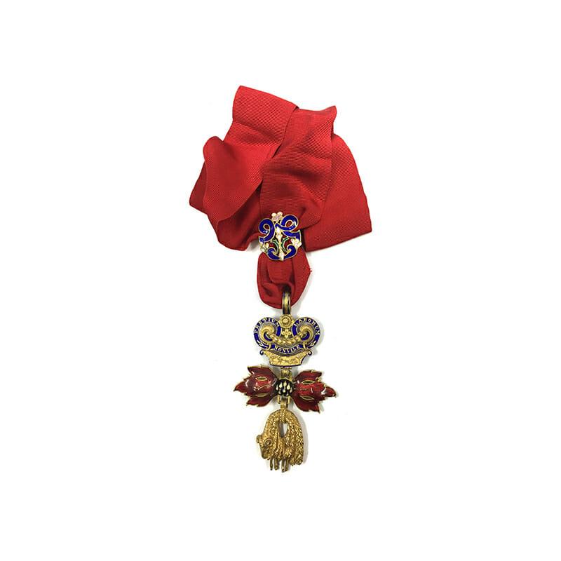 Order of The Golden Fleece neck decoration  superb 1
