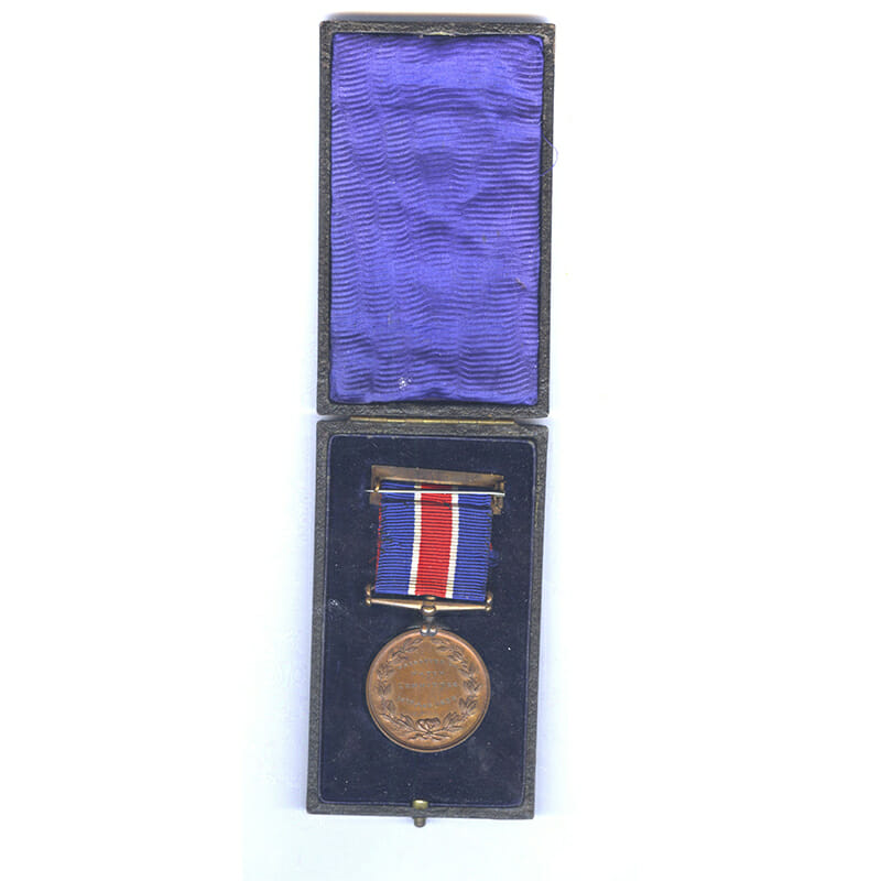 Liverpool City Police Medal Bronze 2
