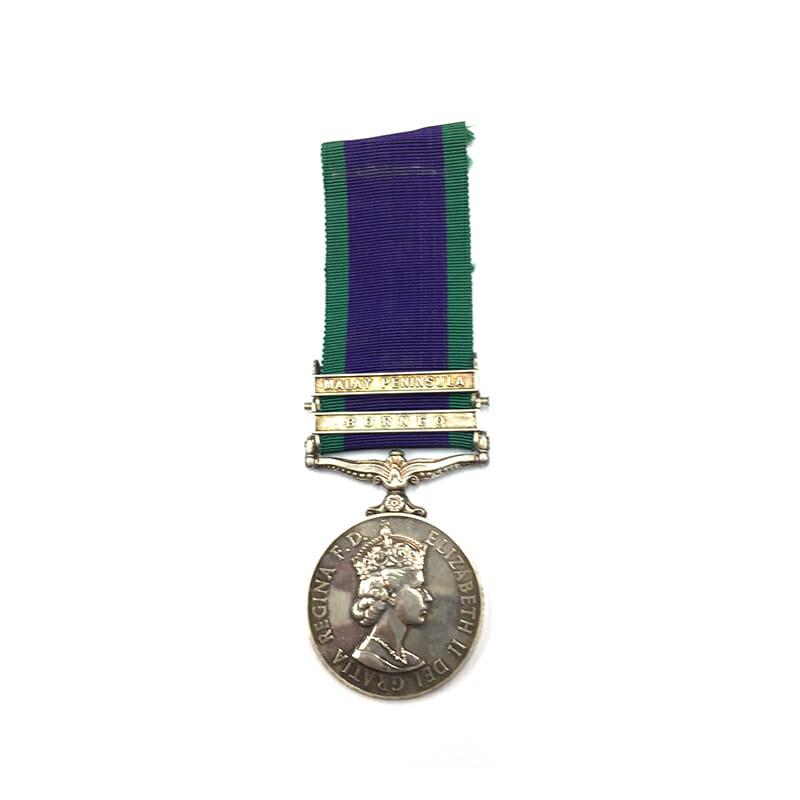 Campaign Service Medal 1962 1