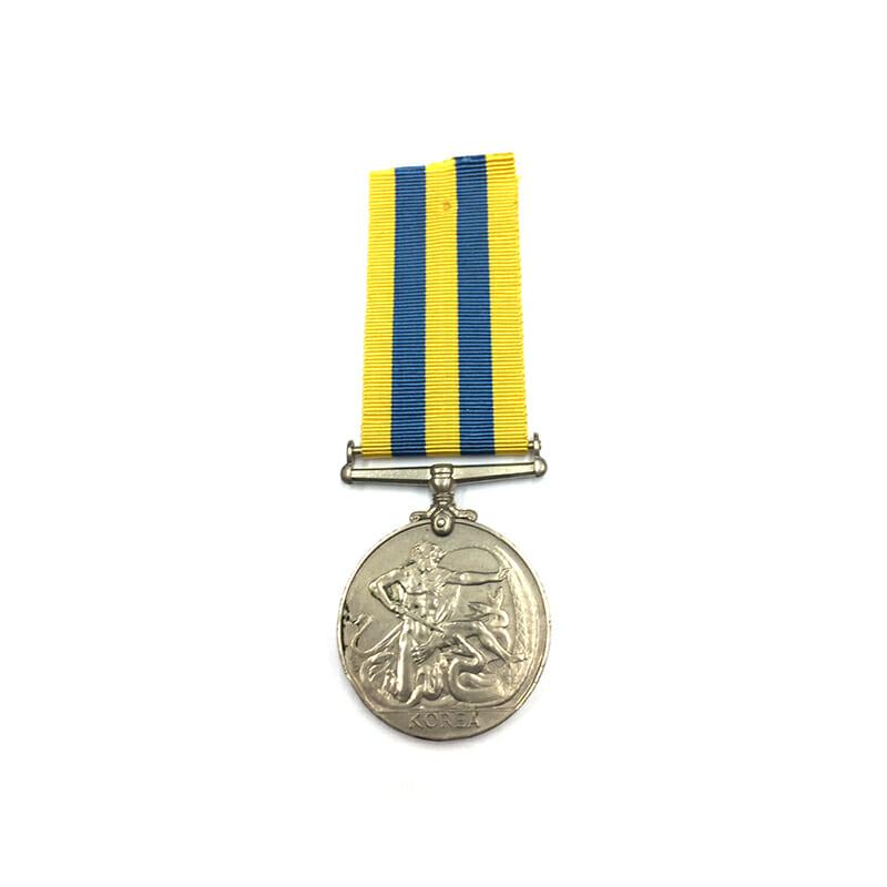Korea Medal Royal Navy 2