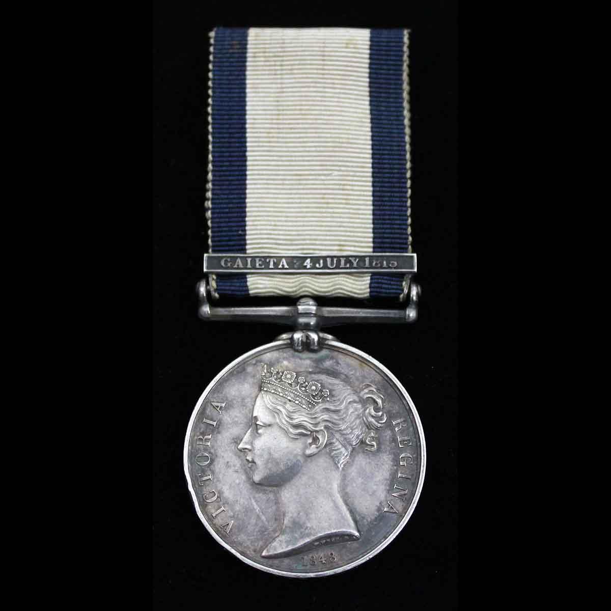 NGS Gaieta 1815 Qr Gnr HMS Berwick 1