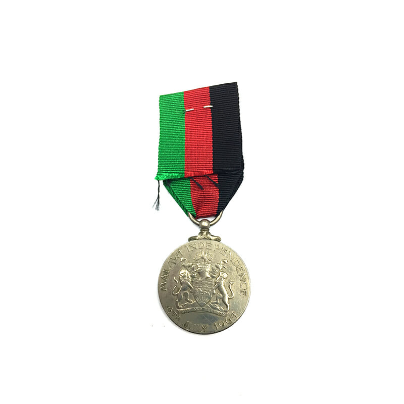 Malawi Independence Medal 1964 2