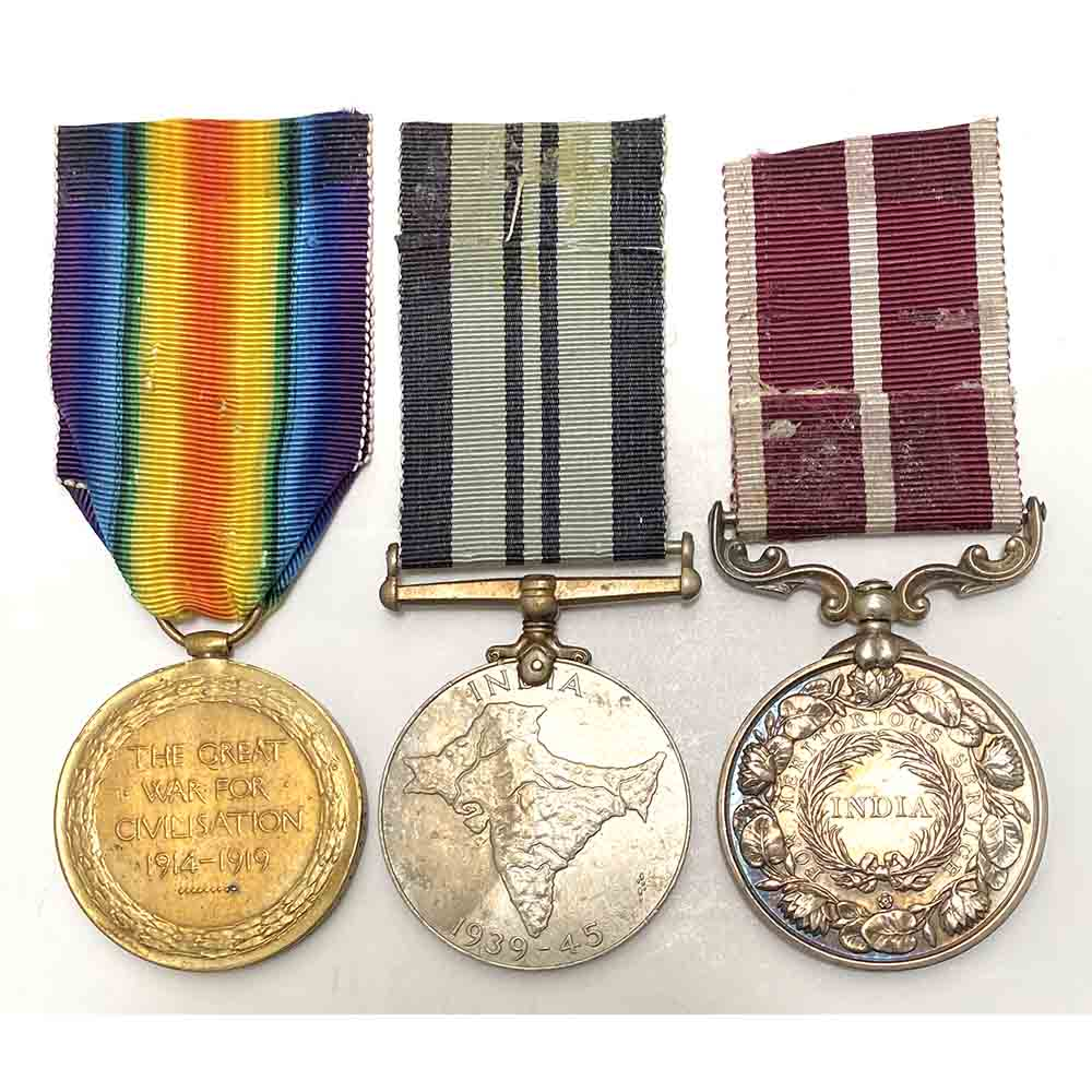 Indian MSM Victory Medal OBI Recipient 2