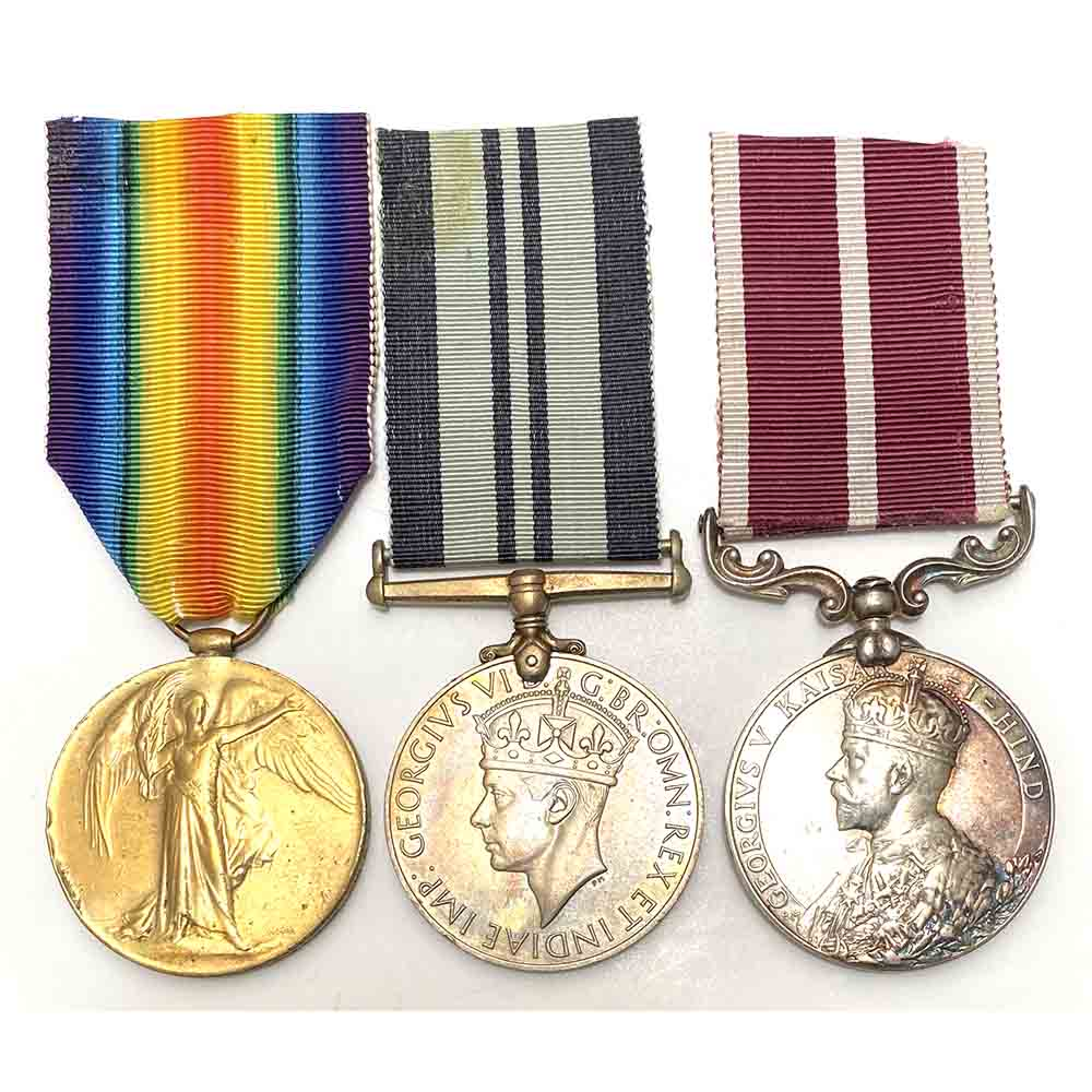 Indian MSM Victory Medal OBI Recipient 1