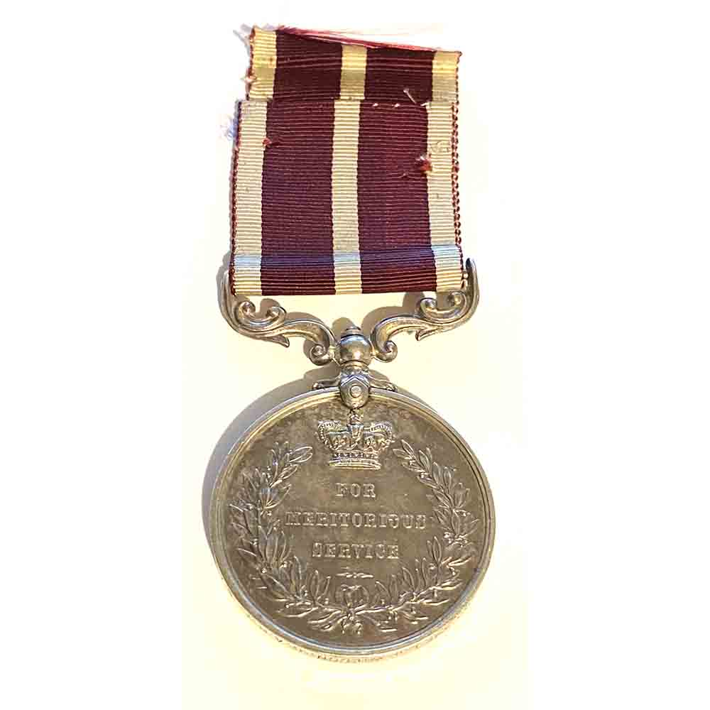 Meritorious Service Medal to C.A.H.T. S.A.F. 2