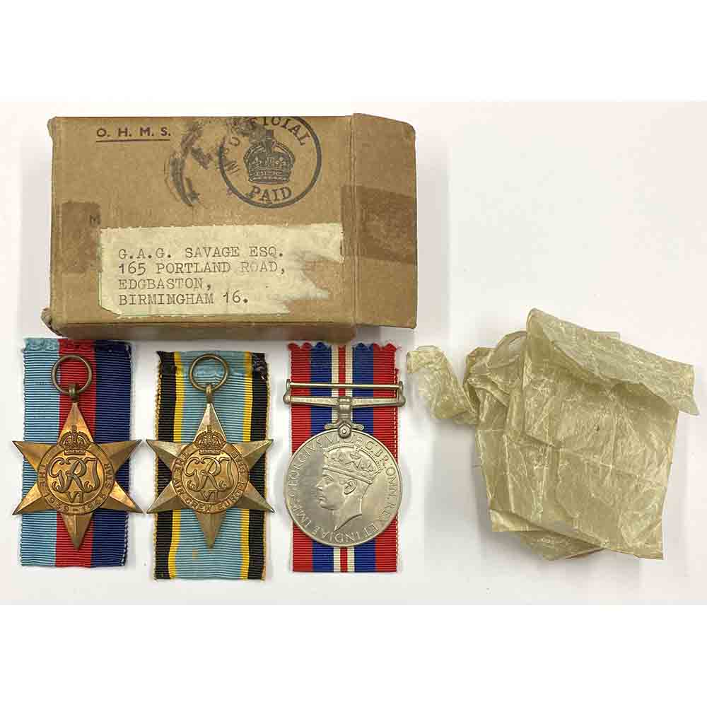 WW2 Air Crew Casualty Sgt Savage 150 Sqn RAFVR 1