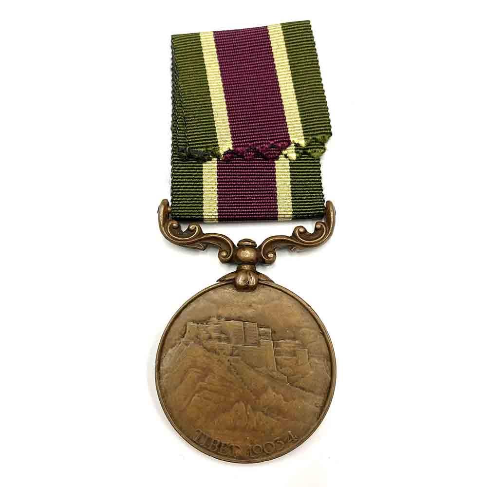 Tibet Medal Bronze, no bar 2