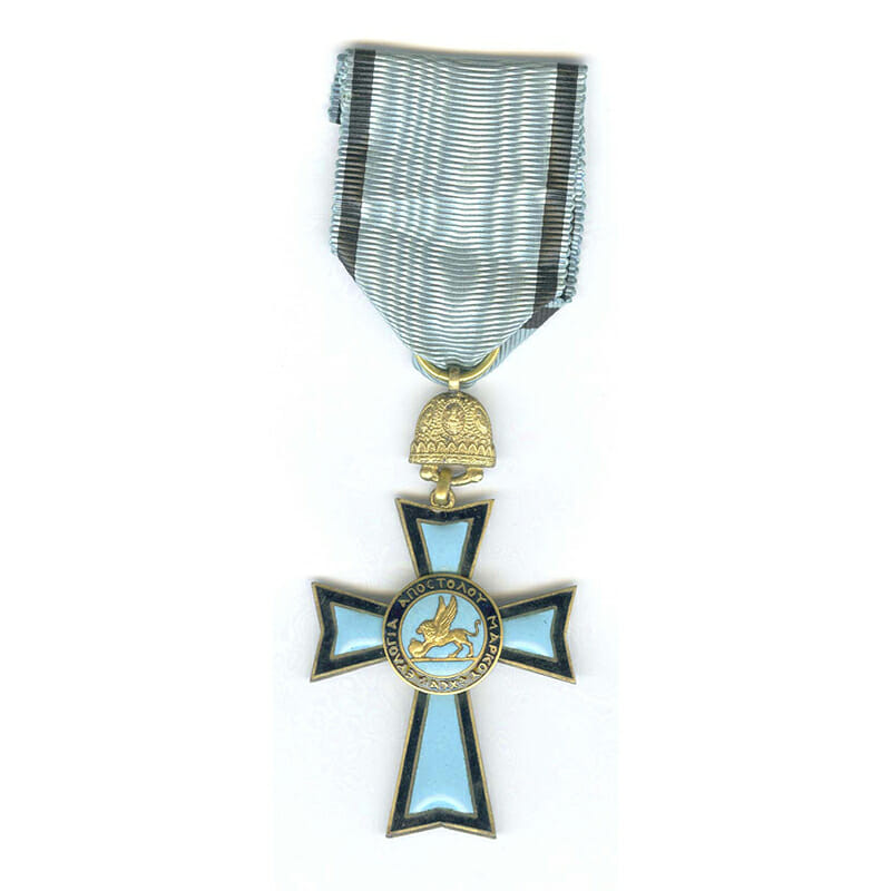 Orthodox Order of St.Mark  breast   badge silver gilt 1
