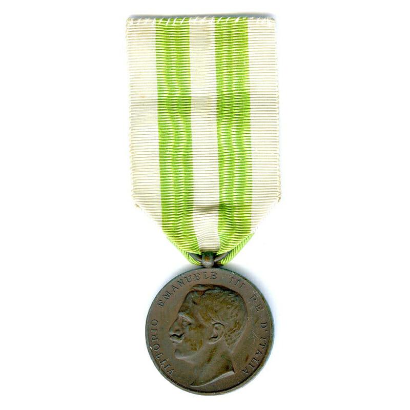 Messina Earthquake Commemorative medal 1908  bronze 1