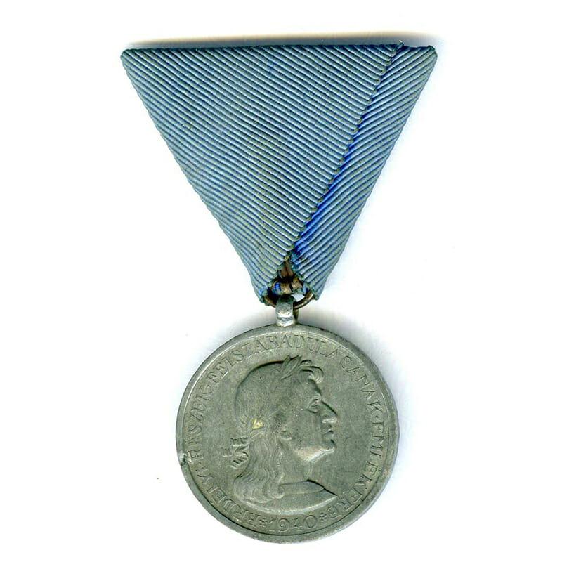 Siebenburgen (Transylvania) medal 1940 zinc 1
