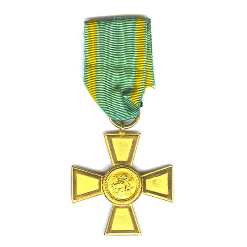 Order of the Zahringen Lion Golden Merit Cross 2