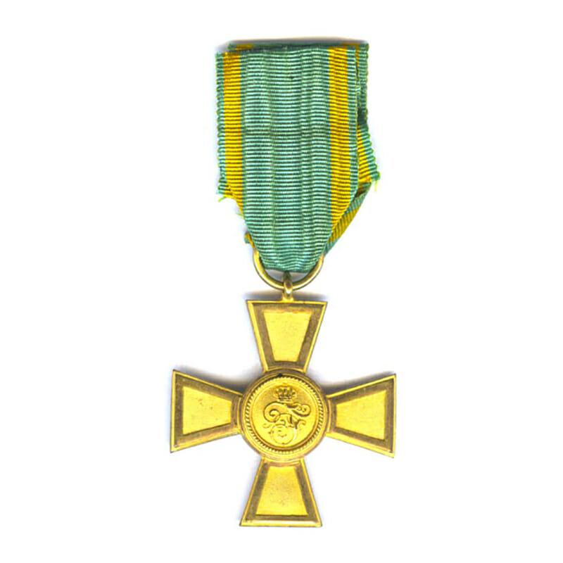 Order of the Zahringen Lion Golden Merit Cross 1