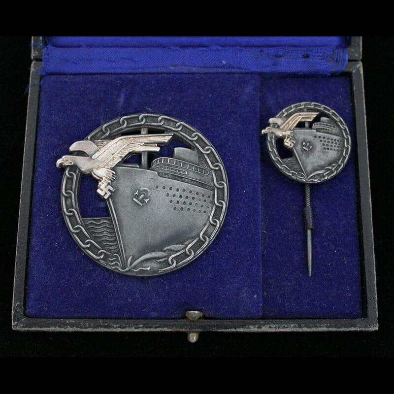 Naval Blockade Runners badge 1