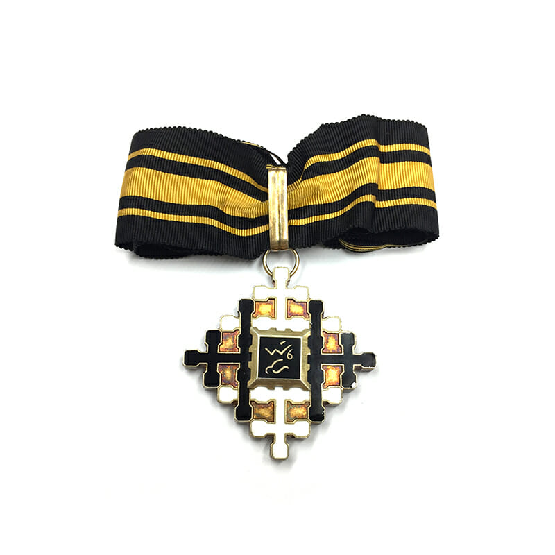 Laos Federation Tai  Cross of Civil  Commander  rare 1