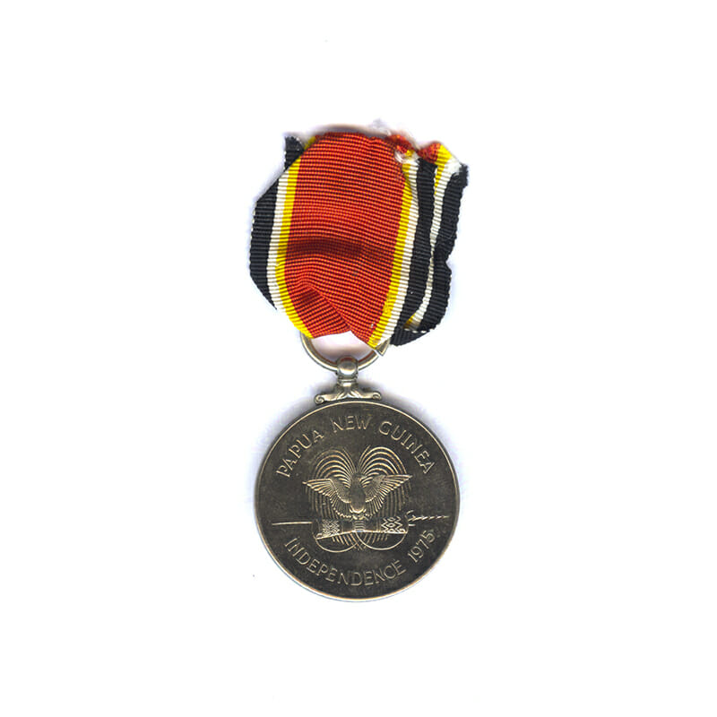 Papua New Guinea Independence Medal 2