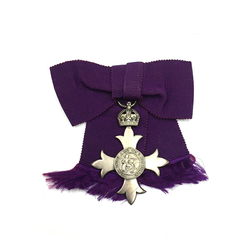 Member of the Order of the British Empire 1