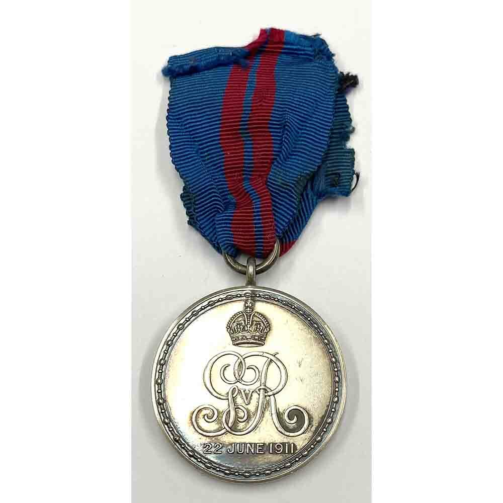 1911 Coronation Medal GV 2