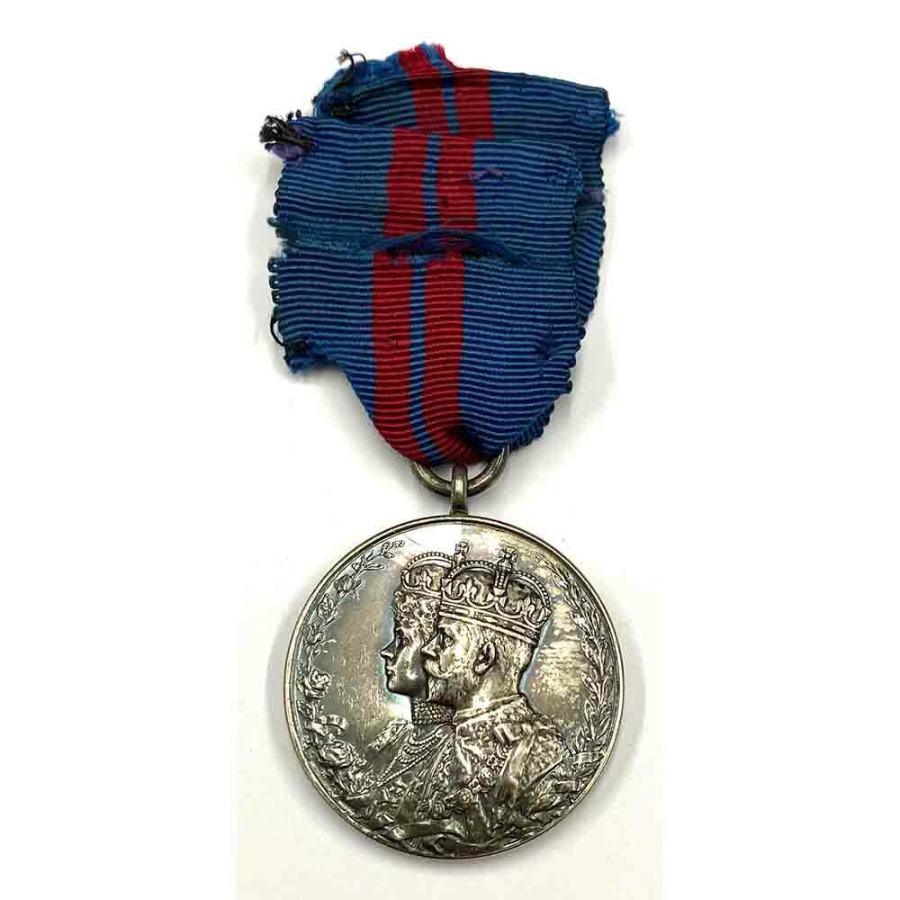 1911 Coronation Medal GV 1
