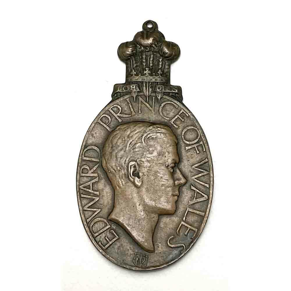 Prince of Wales Visit to Bombay 1921 Medal 1