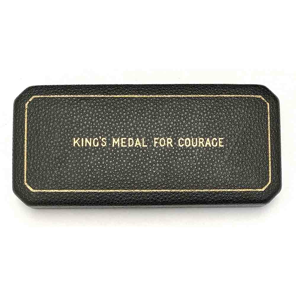 Kings Medal for Courage WW2 3