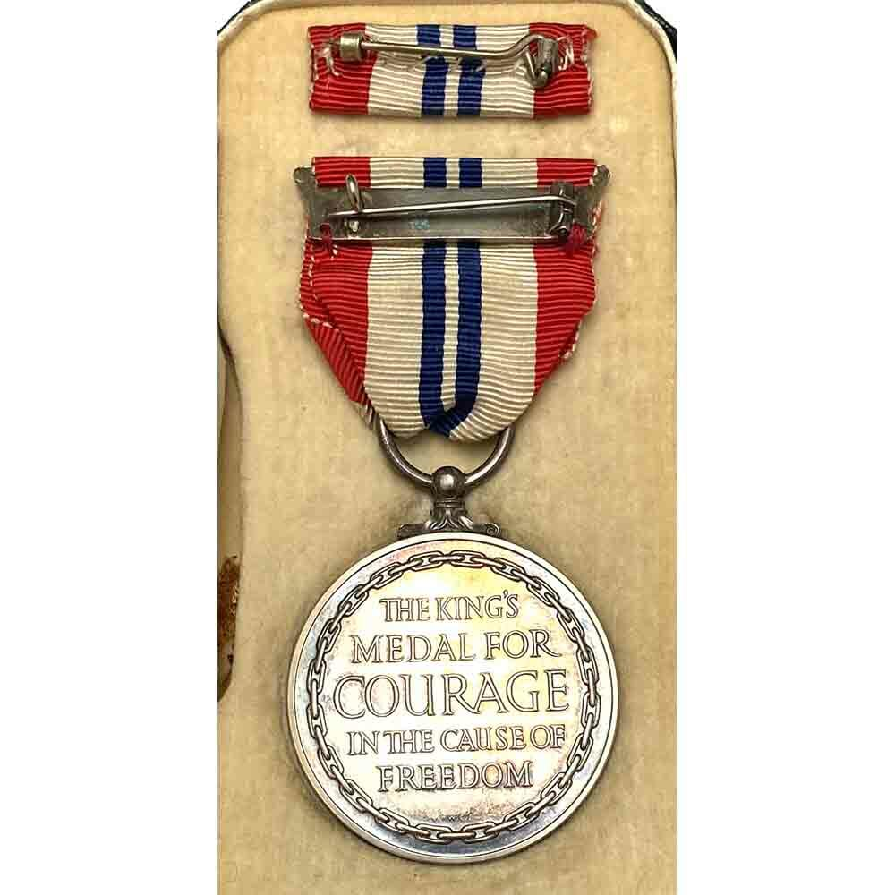 Kings Medal for Courage WW2 2