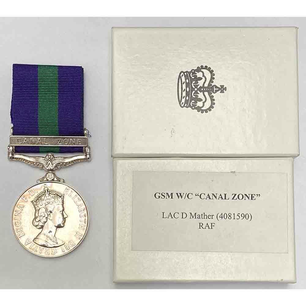 GSM bar Canal Zone, RAF 1