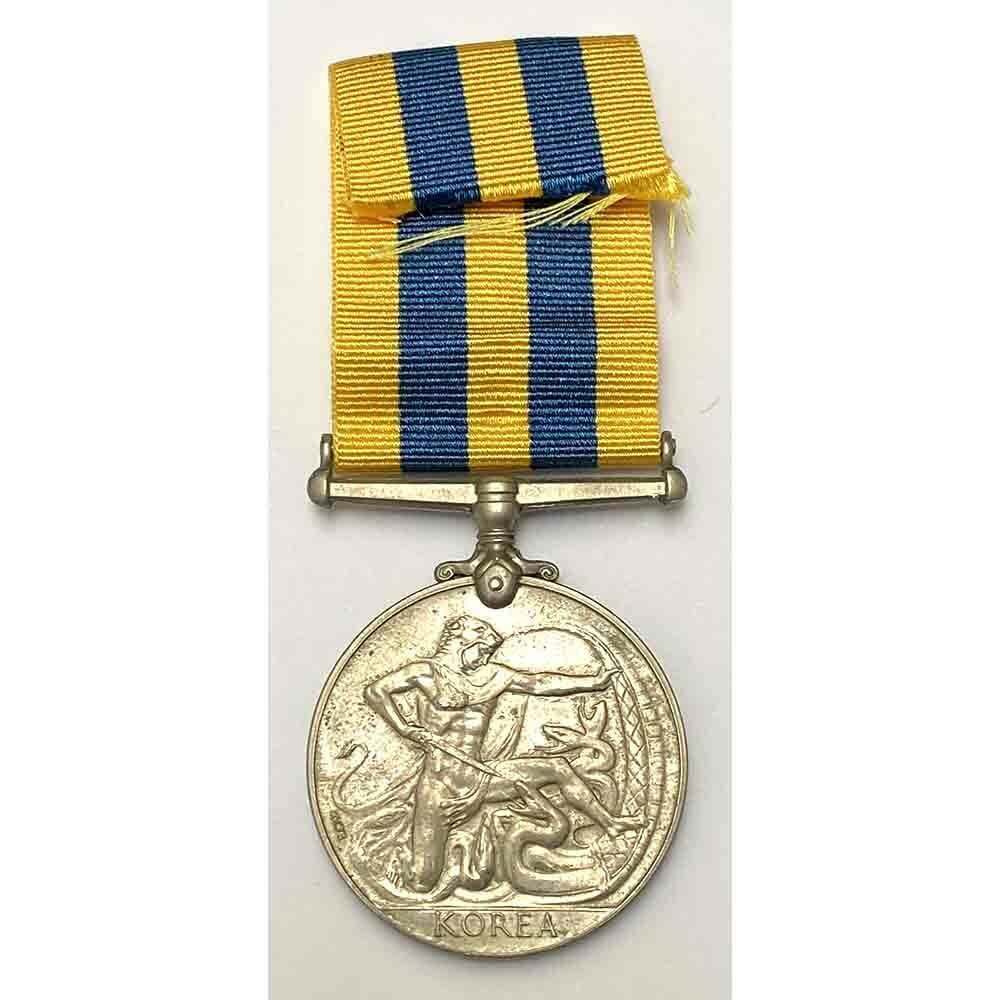 Korea Medal, Shropshire LI, Wounded 2