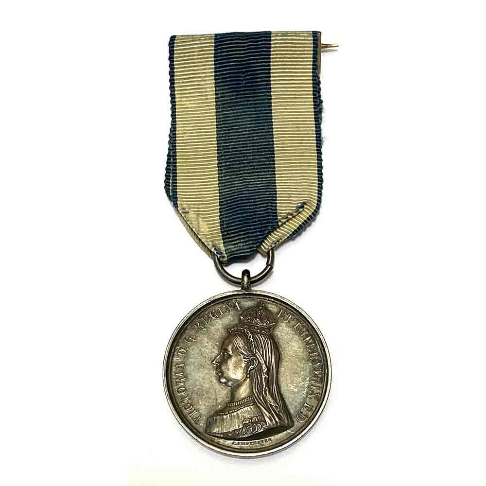 1897 Jubilee Medal in Silver 1