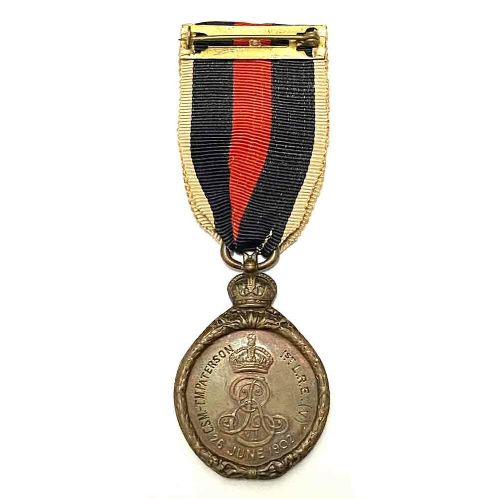 1902 Coronation medal bronze 2