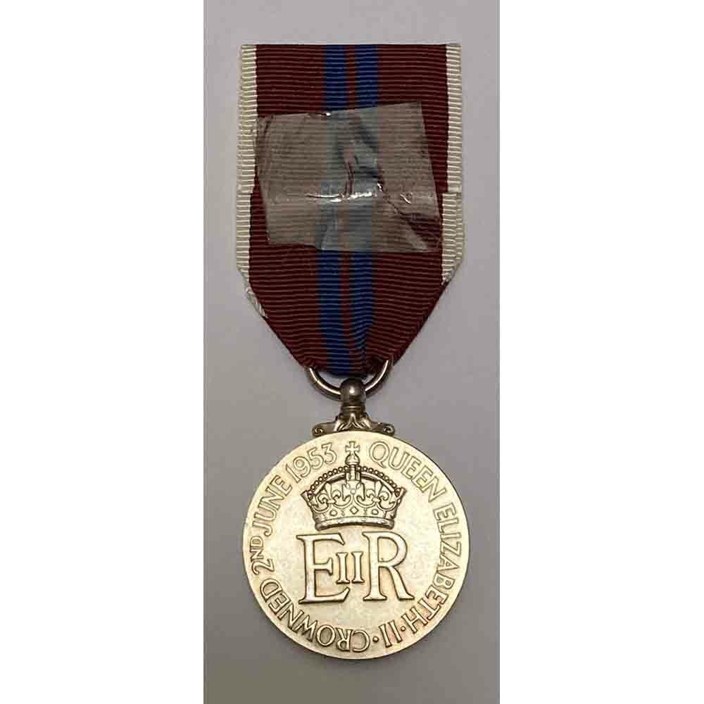 1953 Coronation medal EIIR 2