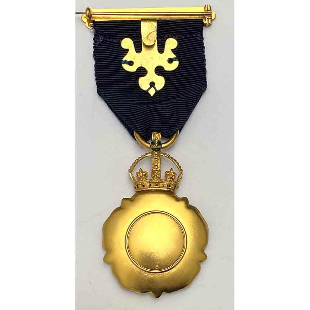 C.I.E. Order of Indian Empire Breast badge Gold 2