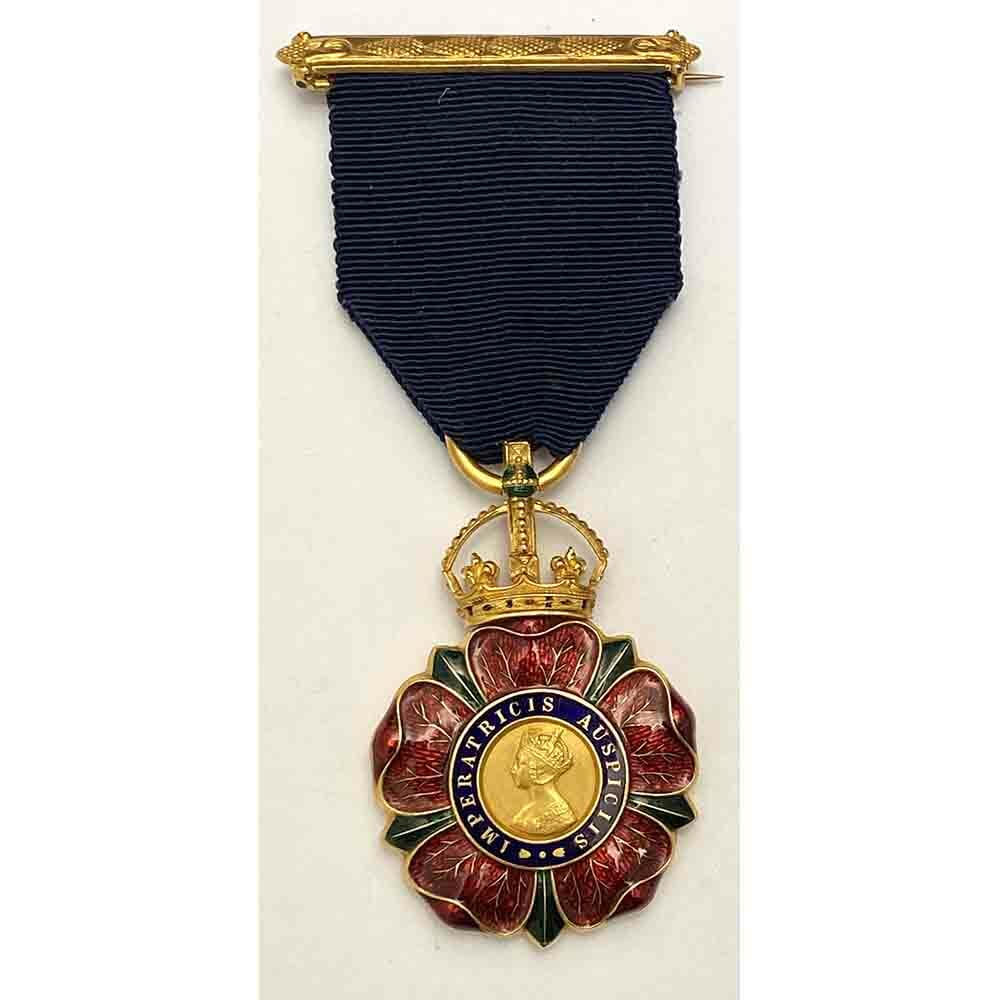 C.I.E. Order of Indian Empire Breast badge Gold 1