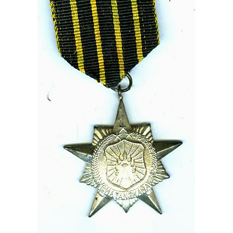 Police Honour star 3rd class silvered 1