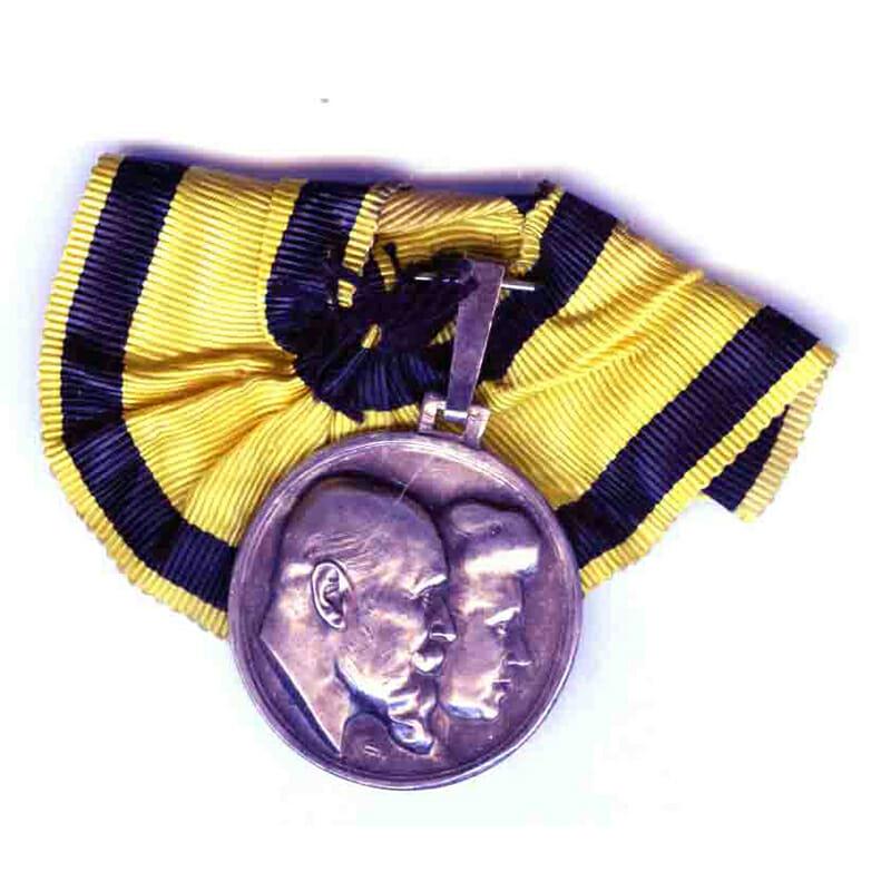 Silver Wedding medal 1911 silver 1