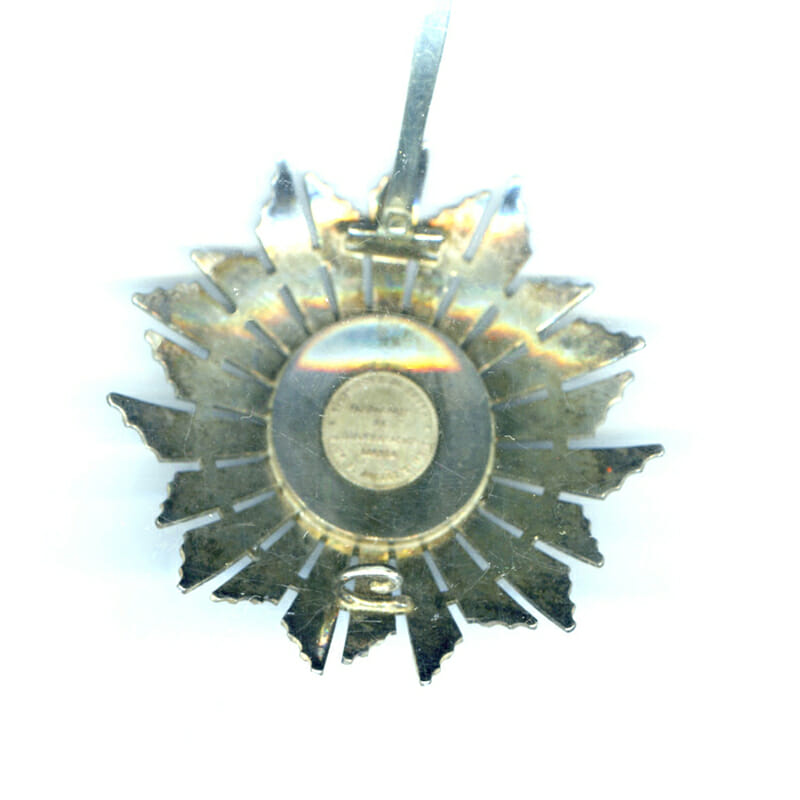Order of Christ  Grand Cross breast star republic 2