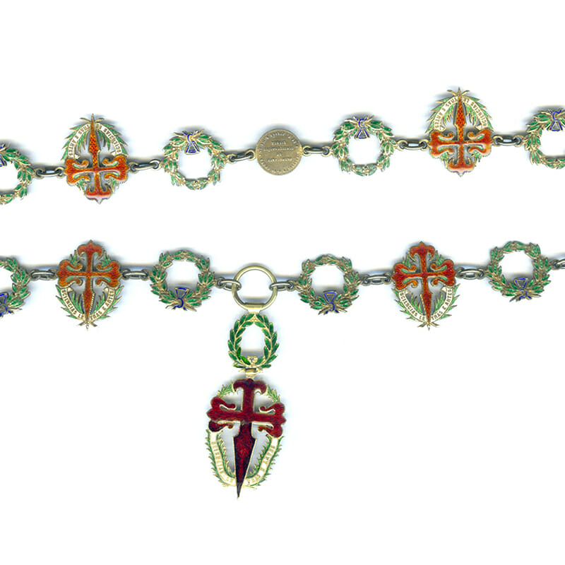 Order of  St. James of the Sword  COLLAR 1