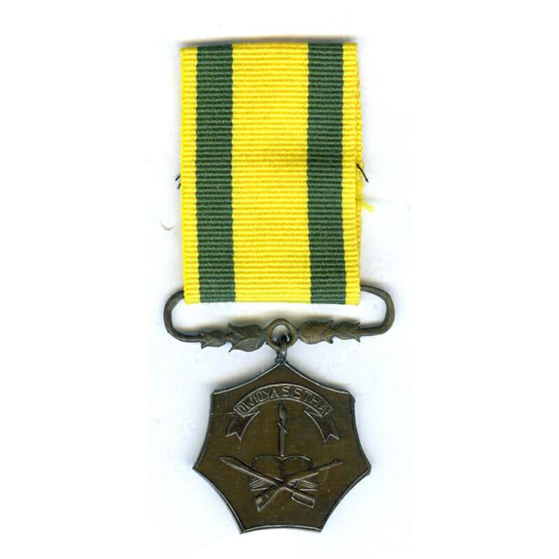 Instructor Service medal 1